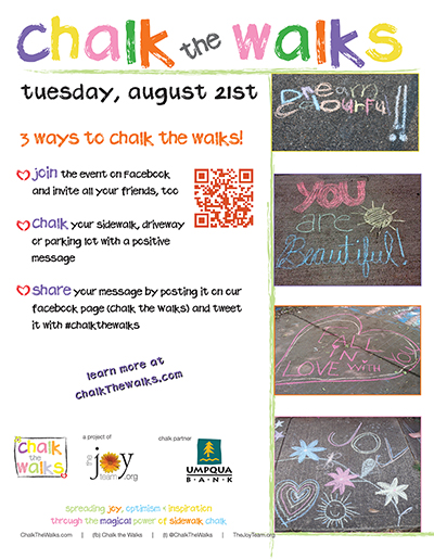 Chalk the Walks 2012 poster