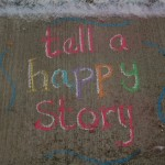 tell a happy story