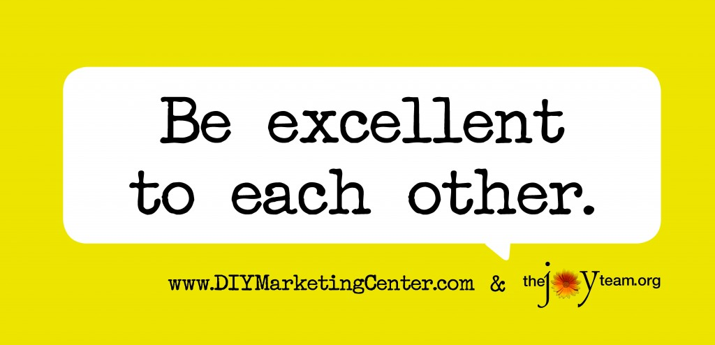 be excellent to each other_DIY